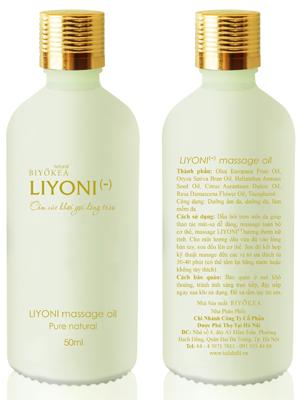 Dầu Bôi Trơn Massage LIYONI- (Hương Nữ Tính) Dung Tích 50ml
