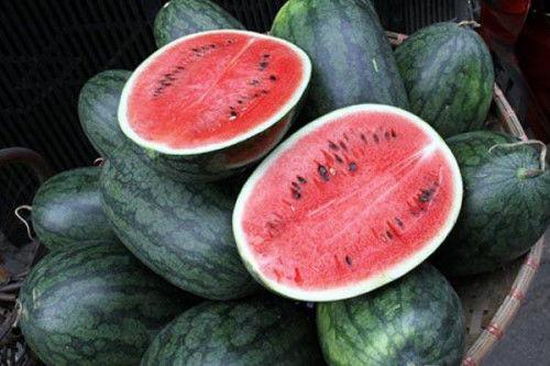 Ăn gì để tăng tinh trùng - ăn dưa hấu đỏ nhé
