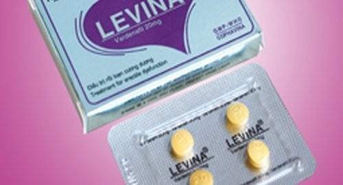 Viên Uống LEVINA - thuốc hỗ trợ chữa xuất tinh sớm