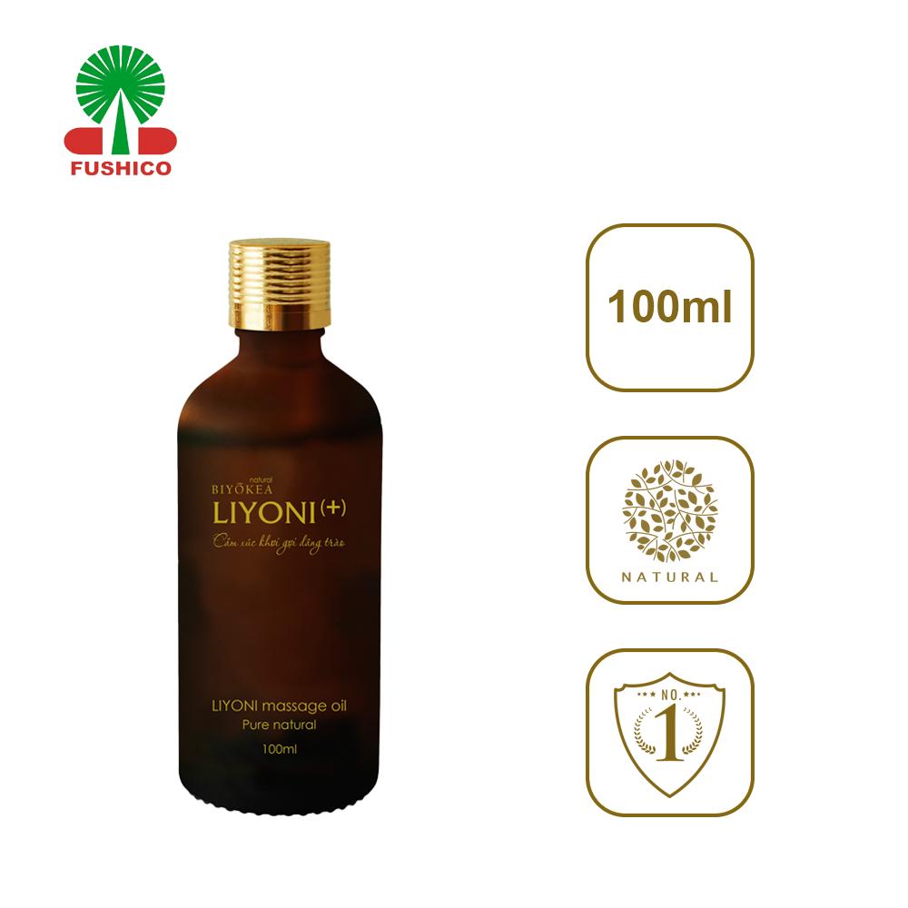 Dầu Bôi Trơn Massage LIYONI+ (Hương Nam Tính) Dung Tích 100ml