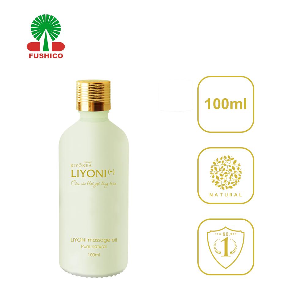 Dầu Bôi Trơn Massage LIYONI- (Hương Nữ Tính) Dung Tích 100ml