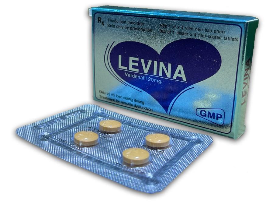 Levina 20mg - Giải pháp tối ưu trong điều trị rối loạn cương dương ở nam giới