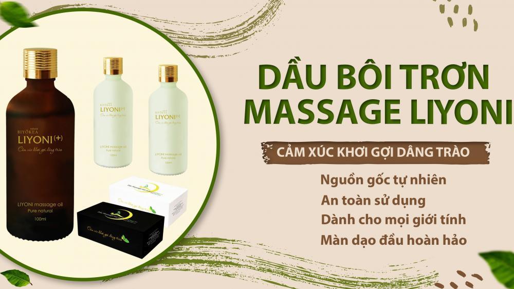 Hỏi - Đáp về dầu massage bôi trơn Liyoni - Bí quyết thăng hạng cuộc yêu