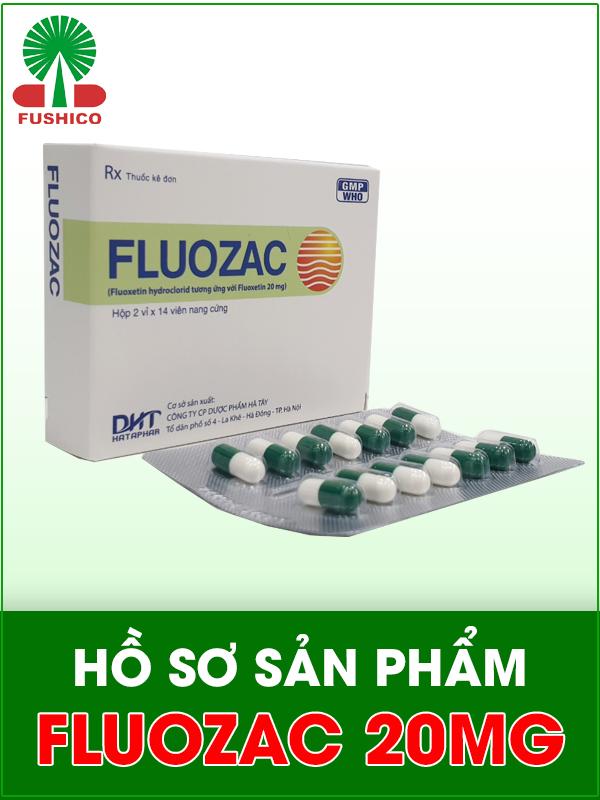 Hồ sơ sản phẩm Fluozac 20mg