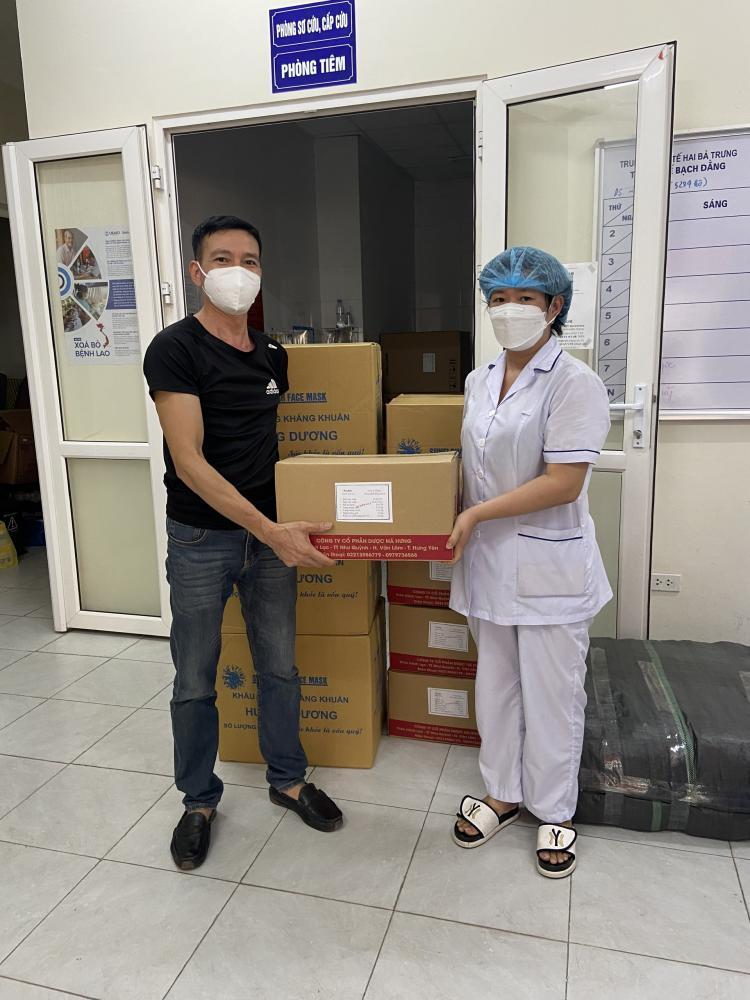 Chi Nhánh Công Ty CP Dược Phú Thọ tại Hà Nội - Tham gia phòng, chống dịch bệnh Covid-19